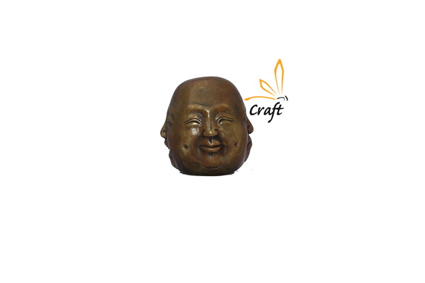 Budda face 4 Copper