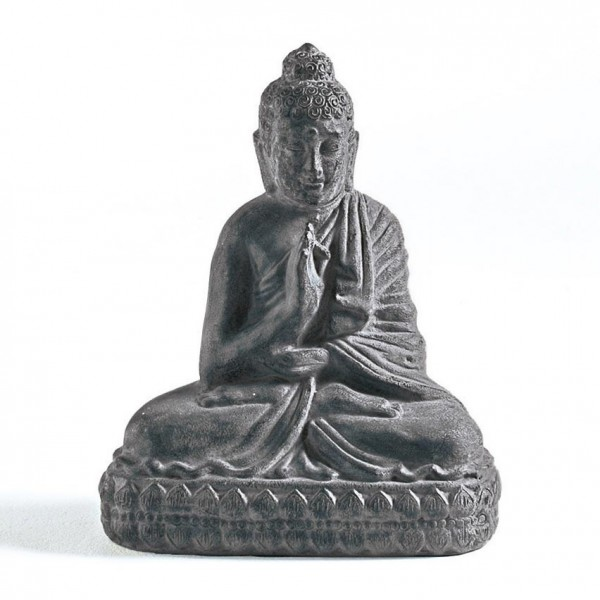 SITTING BUDDHA FROM CLAY